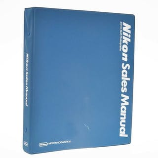 "Nikon, Nippon Kōgaku beautiful and interesting book ""Nikon Sales Manual"" F2"