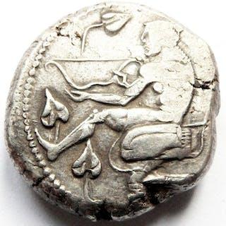 Grecia (antica) - Cilicia, Soloi. AR Stater, ca 440 - 410 v.Chr.