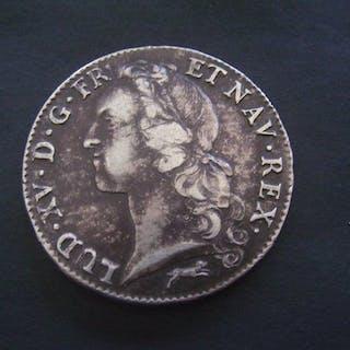 Frankreich - Louis XV - Ecu 1767-R (Orléans) - Silber