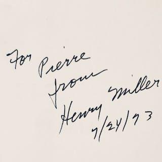 Henry Miller - Plexus - 1971