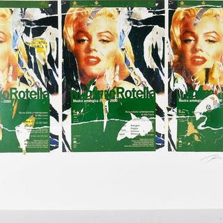 Mimmo Rotella - Omaggio a Marilyn (A Tribute to Marilyn)