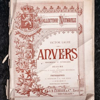 Victor Lagye - Anvers & Gand - Collection Nationale - 1890