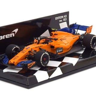 MiniChamps - 1:43 - McLaren MCL33 S. Vandoorne 2018