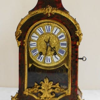 Mantel clock - wurtel piefort paris - Bronze, Copper, Wood - 19th century