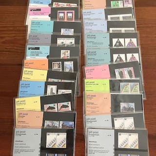 Niederlande - Collection on cards and on pages and 1,000 stamp folders
