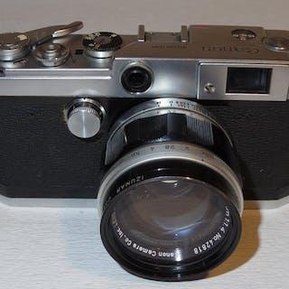 Canon L-2 - 1957 - zeldzaam - inclusief zeer goede Canon 1.4/50mm