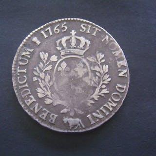 Frankreich - Louis XV - Ecu 1765 (Pau) - Silber