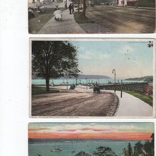 America U.S.A. New York - Postcards (Collection of 102) - 1900-1945