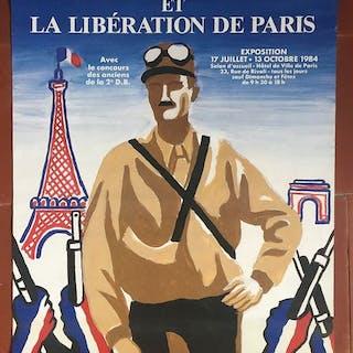Villemot - Leclerc et la libération de Paris (small version) - 1984