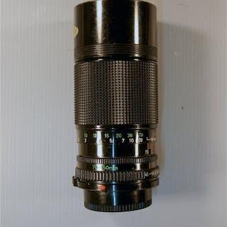 Canon 3x objectief en een macrocoupler voor Canon analoog