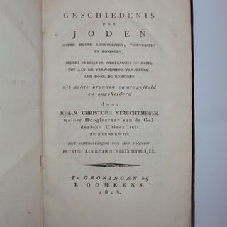 Jodendom; Johan Christoph Struchtmeijer  - Geschiedenis...