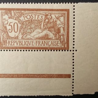 Frankreich 1900 - Merson 50 centimes brown and grey - Yvert 120