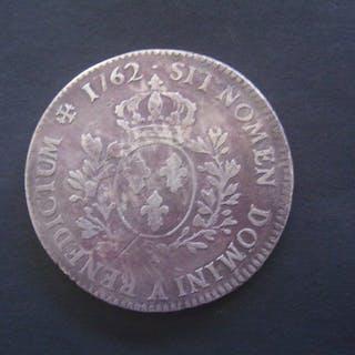 Frankreich - Louis XV - Ecu 1762-A (Paris) - Silber