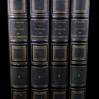 Georges Picot - Histoire des États Généraux (1355-1614)  - 1872