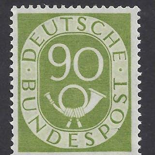 Bundesrepublik Deutschland 1951 - Posthorn, geprufft Schlegel Bpp - Michel 138