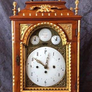 Clock - Joseph Hentzier Wien - Wood - mid 18th century
