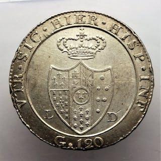 Italia - Regno di Napoli - Piastra da 120 grana 1805...