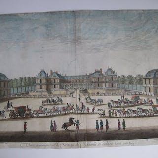 Sylvestre Israel - Vue du Château de Versailles
