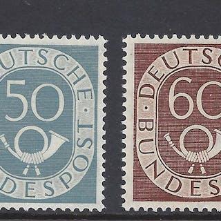 Bundesrepublik Deutschland 1951 - Posthorn