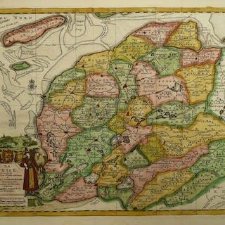 Niederlande, Friesland; Pieter vander Aa - La Frise (...) - 1701-1720