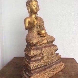 Skulptur (1) - Bronze - Thailand - Ende des 19. Jahrhunderts