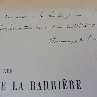 Eugène Hubert - Les garnisons de la Barrière dans les...