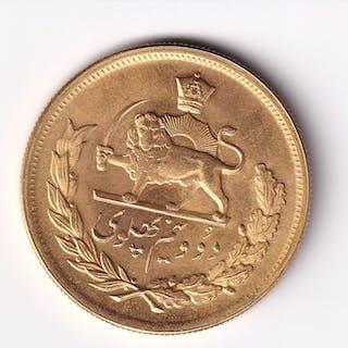 Iran - 2 1/2 Pahlavi 1961 - Oro