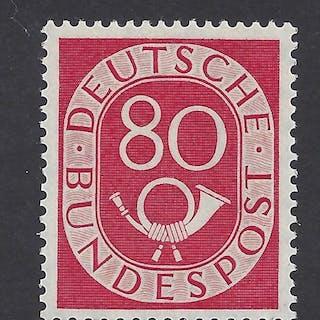 Bundesrepublik Deutschland 1951 - Posthorn, geprufft Schlegel Bpp - Michel 137