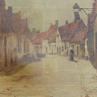 Paul Steck (1866-1924) - Stadszicht