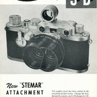 Leica (Leitz) very rare brochure