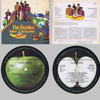 THE BEATLES - Yellow Submarine - LP Album - 1969/1969