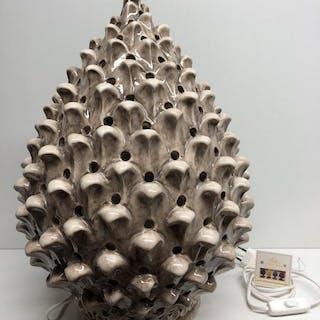 Caltagirone - Oggetto in ceramica, Lampada - Ceramica