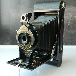 Kodak NO. 2C FOLDING AUTOGRAPHIC BROWNIE ROLLFILMKAMERA BROWNIE 1917