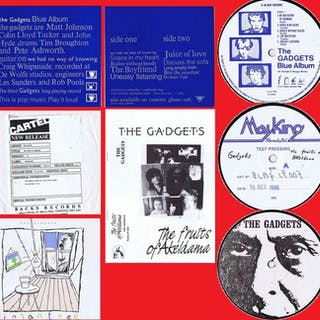 "The Gadgets (Feat: Matt Johnson Of ""The The"" Fame) - Diverse Titel - LP's"