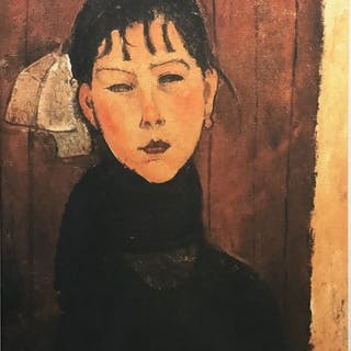 Amédéo Modigliani(d'après) - Marie, fille du peuple