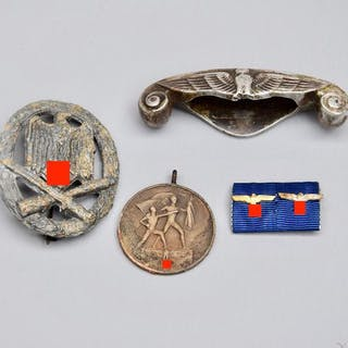 Deutschland - Orden 2.Weltkrieg Konvolut Memelland Medaille