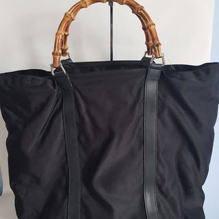 Gucci - Bamboo 2 way Hobo Shopper Tote bag