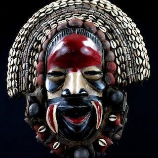 Masque de chanteur - Bois - Tanglalé - Dan - Côte d'Ivoire