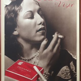 Laure Albin Guillot (photo) - Cigarettes Gitanes Vizir - 1939