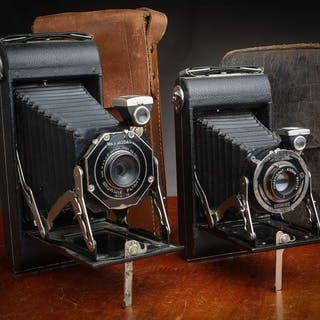 Kodak 2 Très beau Folding Brownie Pliant Six-16...