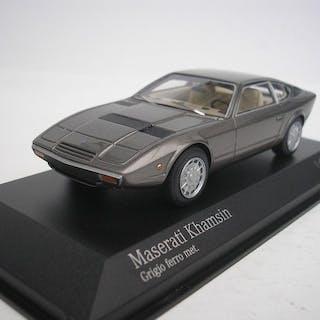 MiniChamps - 1:43 - Maserati Khamsin 1977 - Grau metallic - 500 Stück