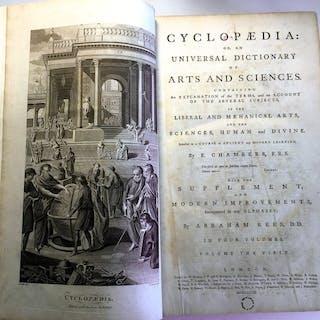 Ephraim Chambers - Cyclopaedia; or