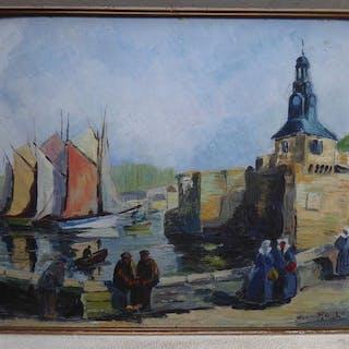 Jean Rouge - Hafen an der französischen Küste