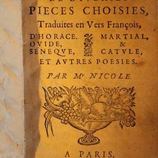 Horace, Ovide
