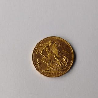 United Kingdom - Sovereign 1912 George V - Gold