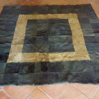Rug, fur bedspread