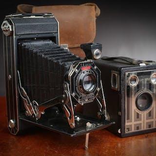Kodak 2 Brownie Superbe Folding Six-16  Art Déco avec 1...