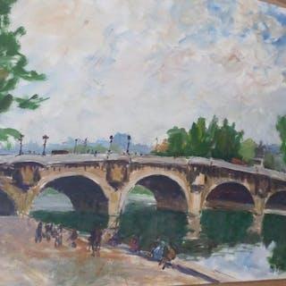 Maurice Faillies - La Seine