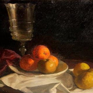 Lluís Masriera i Rosés (Barcelona, 1872-1958)- Bodegón