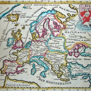 Europa; De La Feuille - Europa - 1721-1750